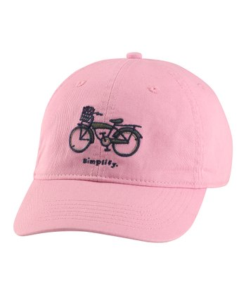 Pink 'Simplify' Chill Baseball Cap - Women