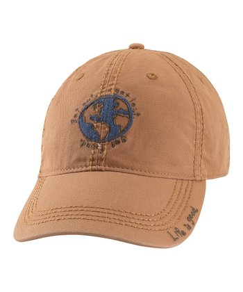 Light Copper Grass Roots Earth Organic Baseball Cap - Women