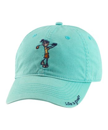 Teal Jackie Golf Chill Baseball Cap - Women