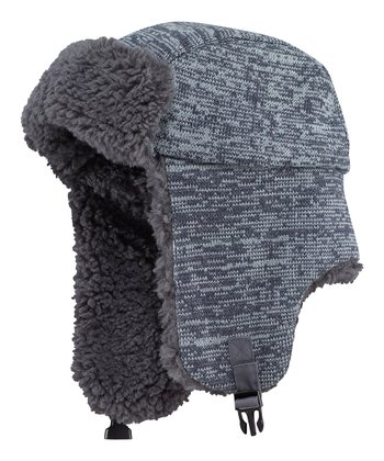 True Blue Elmer Fuzz Trapper Hat - Men