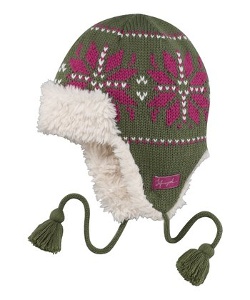 Simply Moss Sleigh Trapper Hat - Women