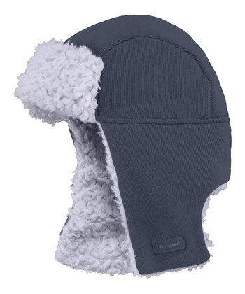 True Blue Elmer Fuzz Trapper Hat