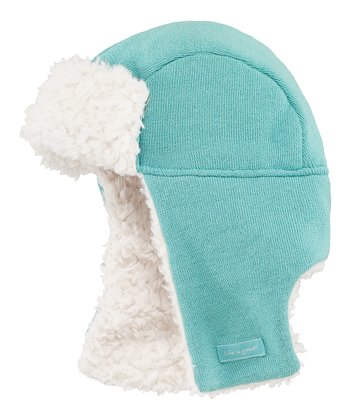 Teal Elmer Fuzz Trapper Hat
