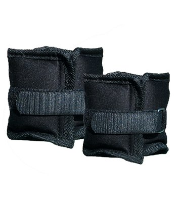 Black 5-Lb. Ankle & Wrist Weight Set