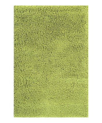 Lime Super Shag Rug