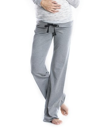 Gray Maternity Lounge Pants