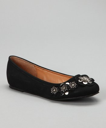 Black Jovie-10 Flower Flat