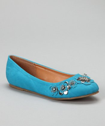 Blue Jovie-10 Flower Flat