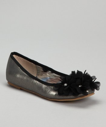 Black Jovie-9 Flower Flat