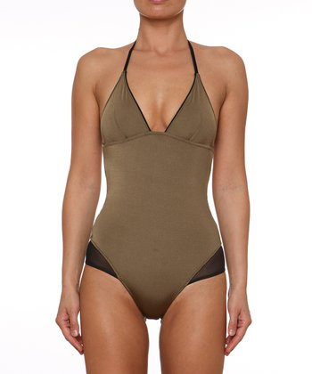 Khaki Susie One-Piece - Women