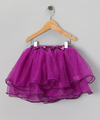 Purple Five Layer Tutu