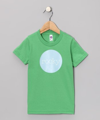 Green & Blue Personalized Tee - Toddler & Kids