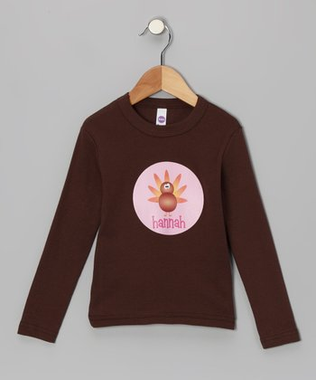 Brown Turkey Tee - Infant, Toddler & Girls