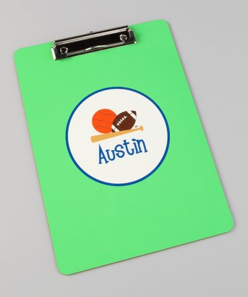 All Sports Personalized Clipboard