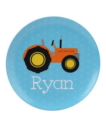 Tractor Personalized Plate