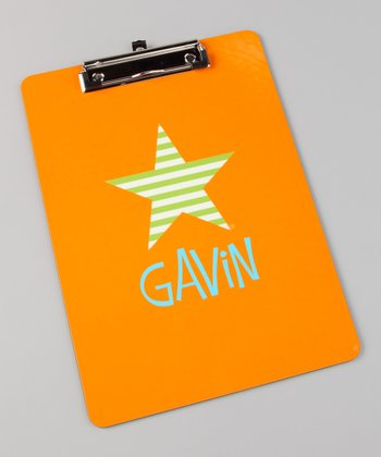 Star Personalized Clipboard