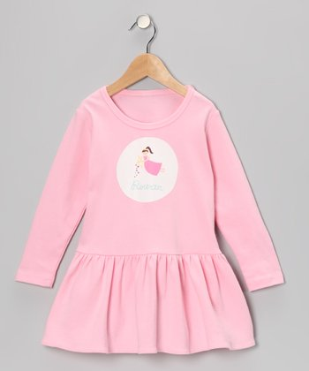 Pink Fairy Cupid Personalized Dress - Toddler & Girls