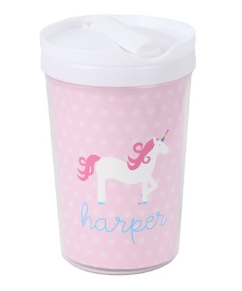 Unicorn Personalized Toddler Cup