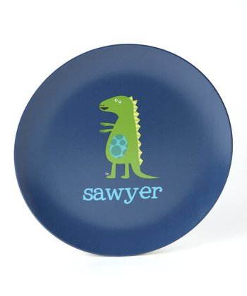Dino Personalized Plate