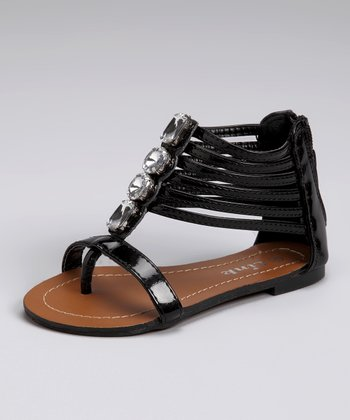 Link Black Jewel Madden Gladiator Sandal