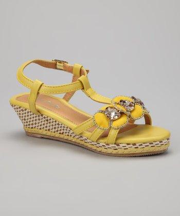 Yellow Jewel Wedge
