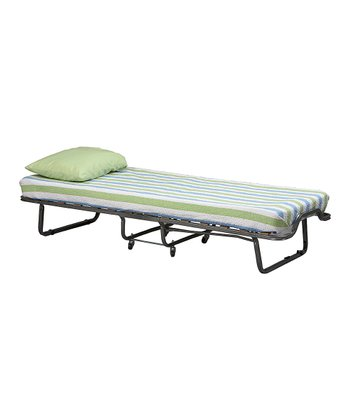 Ticked Torino Folding Bed