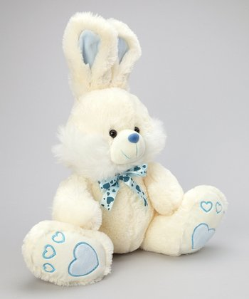 Blue Cutezee Bunny Plush Toy