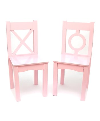 Pink Chair - Set of Two