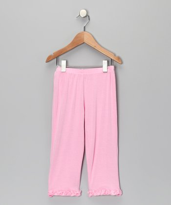 Pink Precious Baby Ruffle Pants - Infant & Toddler