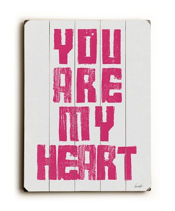 'You Are My Heart' Wall Art