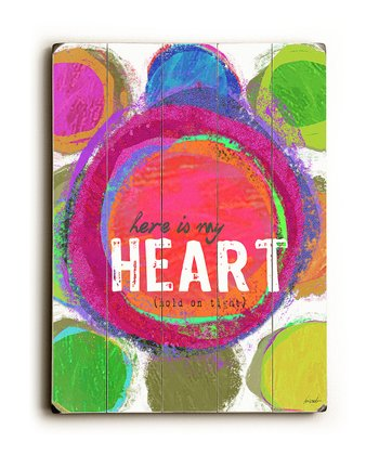 'My Heart' Wall Art