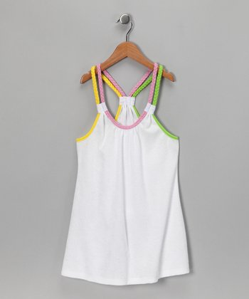 White Terry Racerback Cover-Up