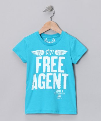 Aqua 'Free Agent' Tee - Infant, Toddler & Boys