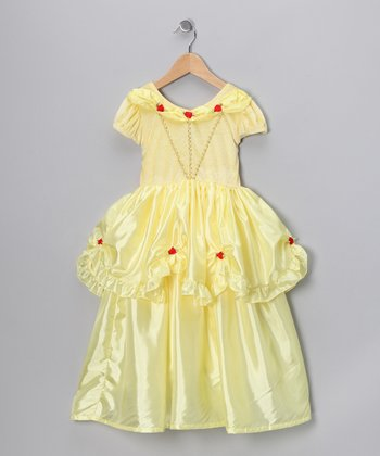 Yellow Beauty Princess Dress - Toddler & Girls