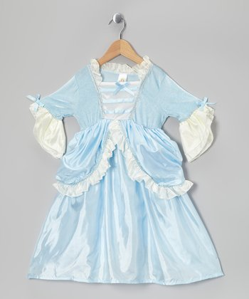 Blue Ruffle Parisian Princess Dress - Infant, Toddler & Girls