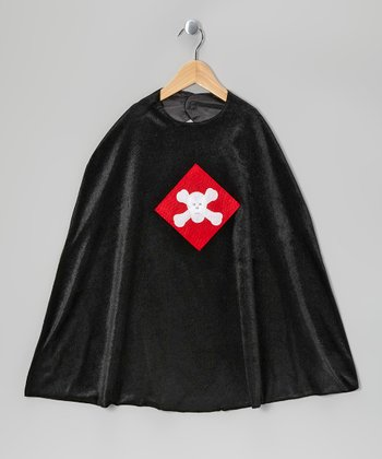 Black Pirate Cape