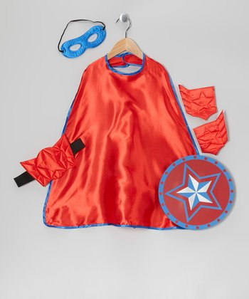 Red & Blue Hero Set - Toddler & Kids
