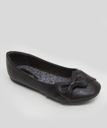 Brown Teshi Ballet Flat