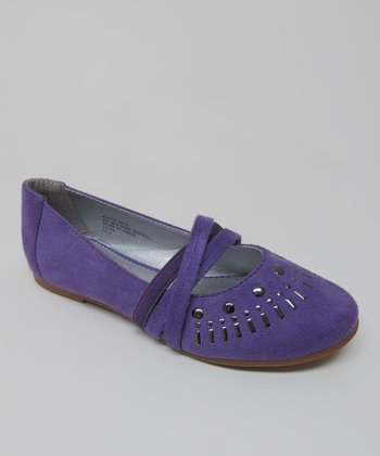 Purple Kacy Flat