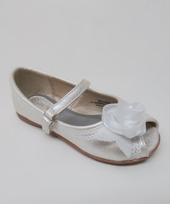 Ivory Kelly Peep-Toe Mary Jane