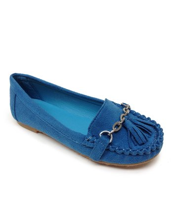 Blue Patsy Loafer