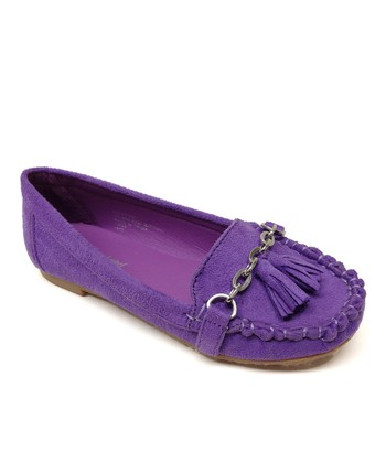 Purple Patsy Loafer