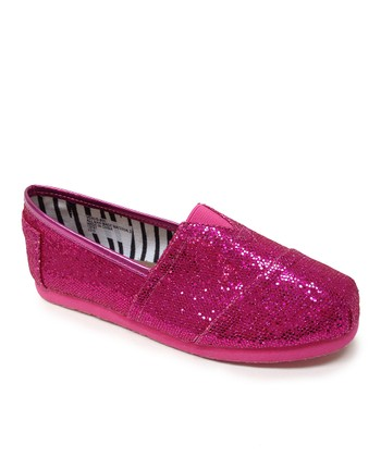 Fuchsia Venus Slip-On Shoe