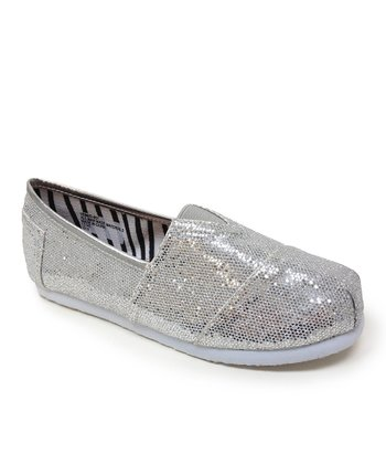 Silver Venus Slip-On Shoe