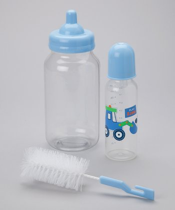 Blue Train Bottle Gift Set