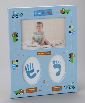 Blue Trucks Keepsake Frame