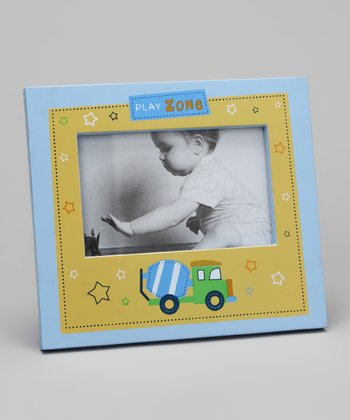 Blue Truck Picture Frame