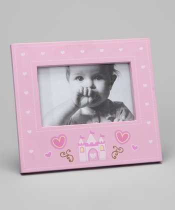 Pink Princess Rectangle Picture Frame