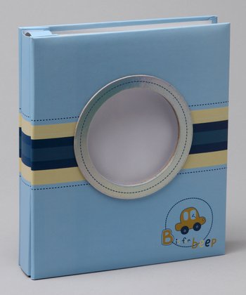 Blue 'B is for Beep' Photo Album