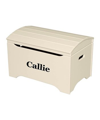 Linen Personalized Treasure Chest